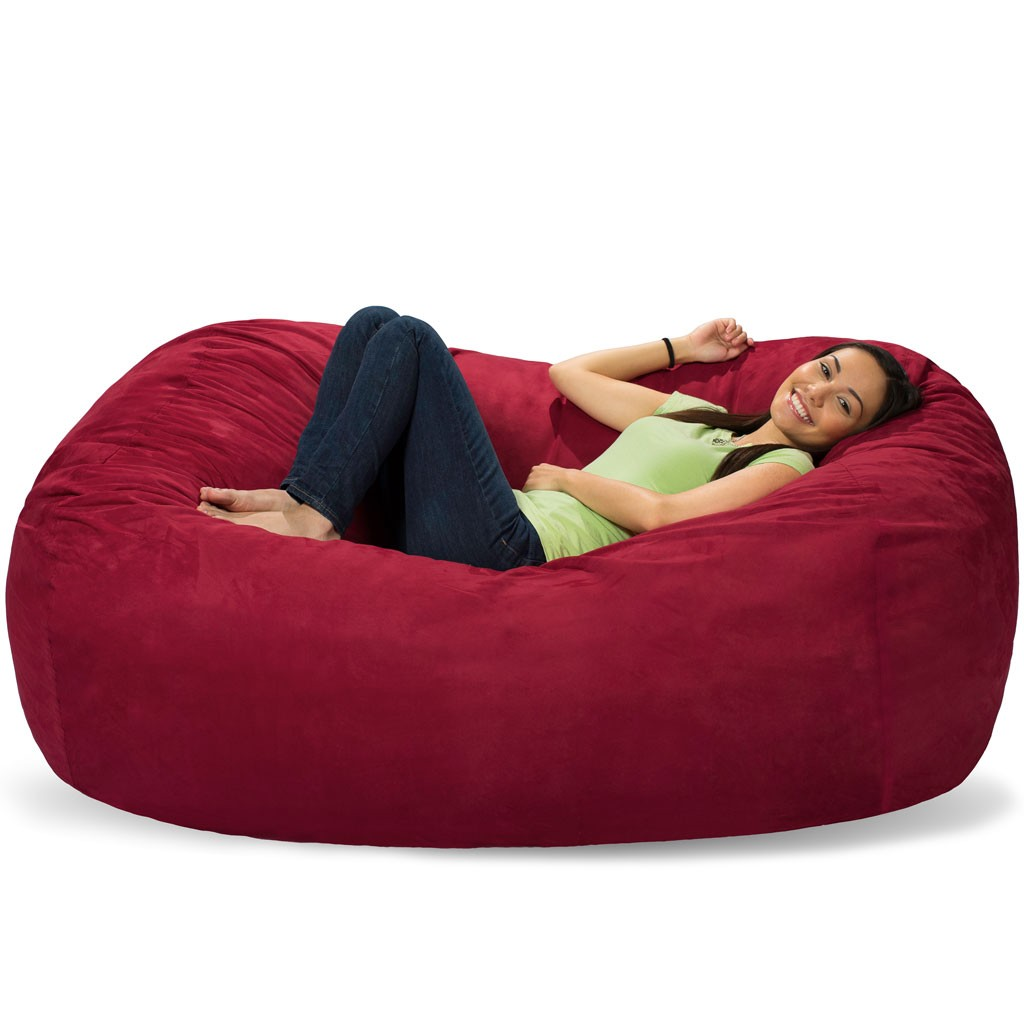 Giant Bean Bags Huge Bean Bag Chairs Get Comfy With